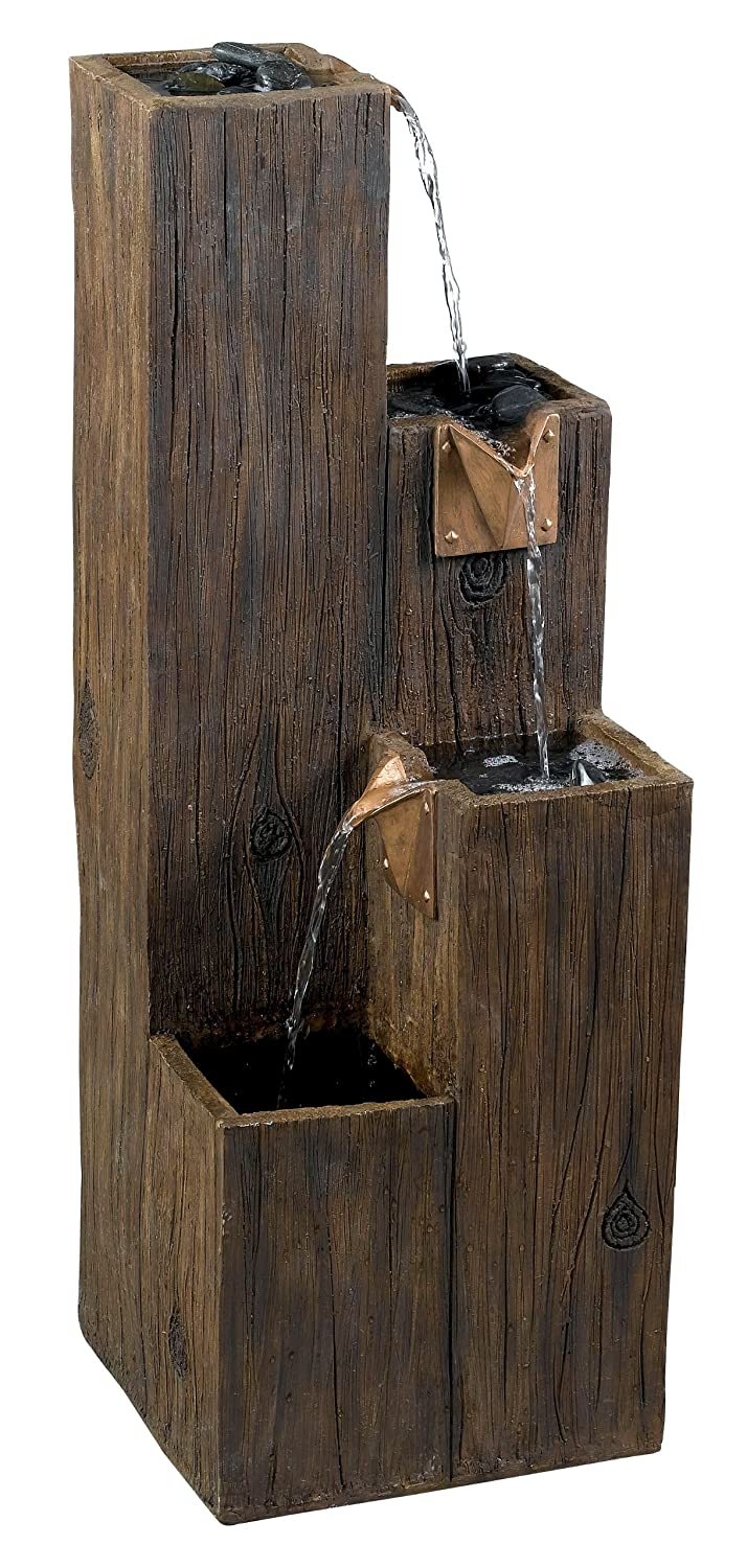 Amazon.com: Kenroy Home #50007WDG Timber Indoor/Outdoor Floor Fountain With  Wood Grain Finish: Home U0026 Kitchen