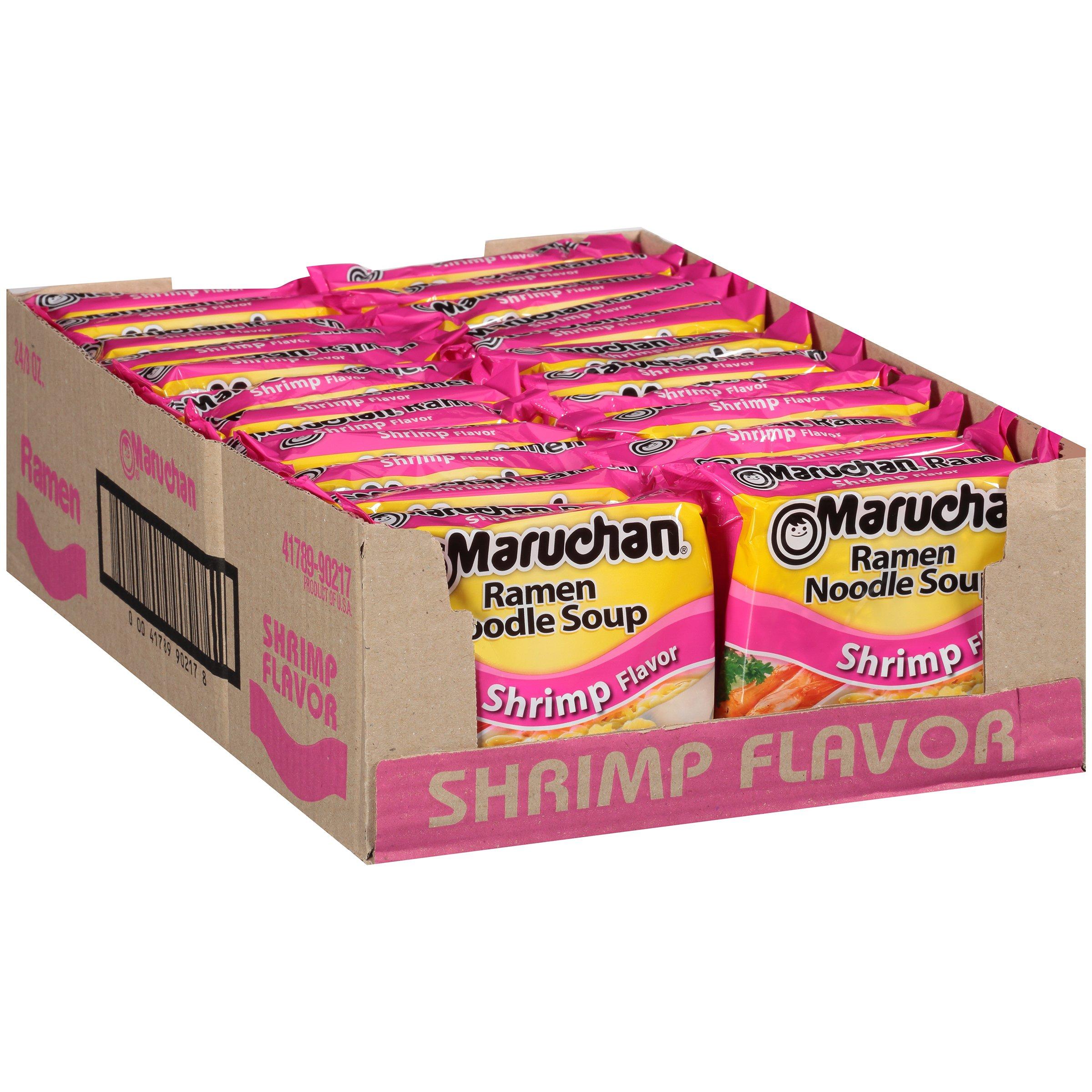 Maruchan Ramen Shrimp, 3.0 Oz, 24 Count