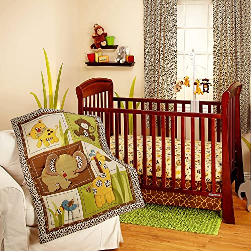 Little Bedding Jungle Dreams 3 Pc Bedding Set