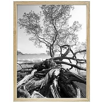 Amazon.com : Art Shadow-Box 24x30 Natural Wood frame by MCS - 24x30 ...