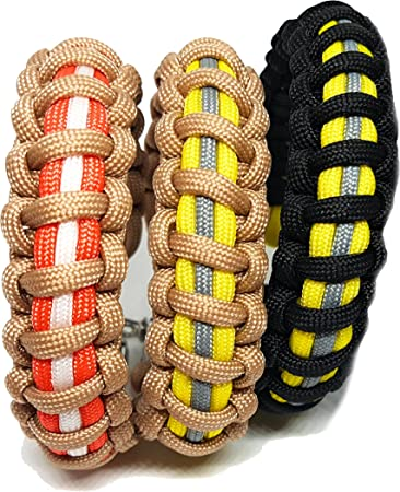 Amazon.com: Bombero Paracord ajustable supervivencia ...