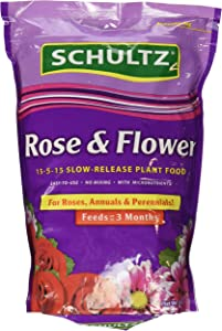 Schultz Spf48410 Rose & Flower Slow-Release Plant Food, 15-5-15, 3.5 Lbs