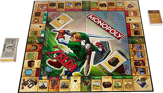 Hasbro The Legend of Zelda Collectors Edition Monopoly Juego De Mesa: Amazon.es: Juguetes y juegos