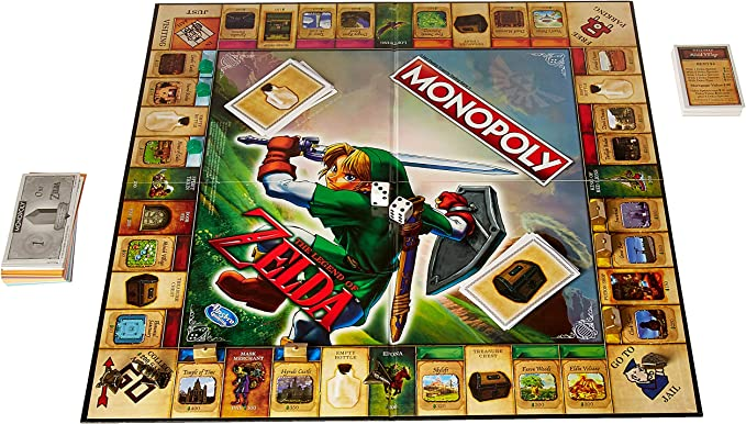 Hasbro The Legend of Zelda Collectors Edition Monopoly Juego De Mesa: Amazon.es: Juguetes y juegos