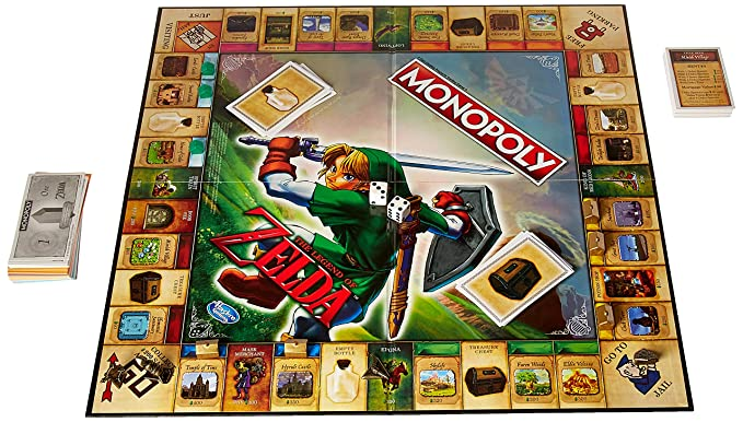 Amazon.com: Monopoly Legend of Zelda Edition: Toys & Games