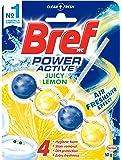 Bref Power Active Juicy Lemon, Rim Block Toilet Cleaner, 50g, 50 grams