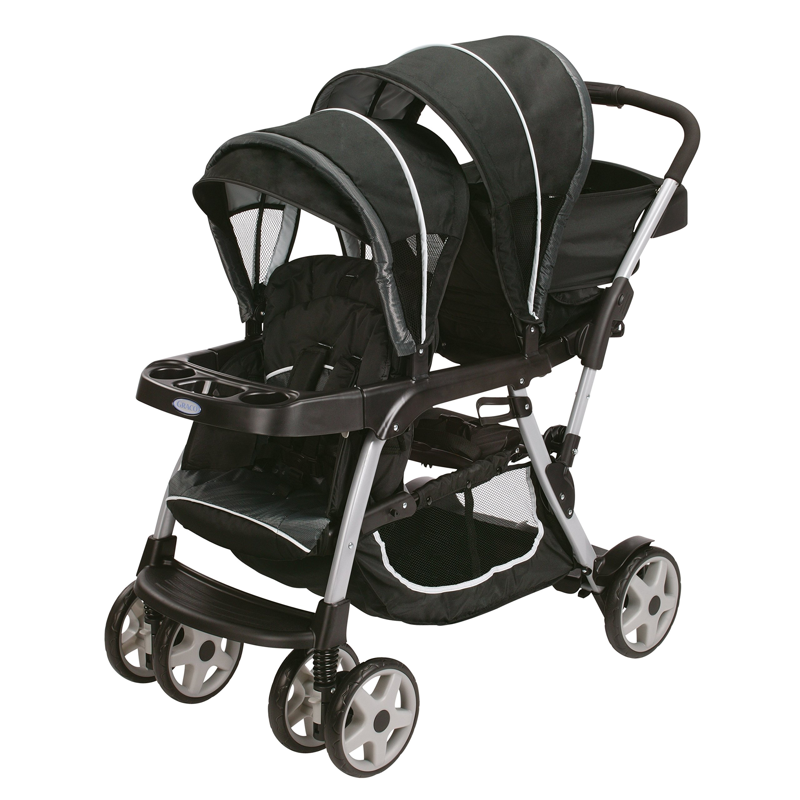 Graco Ready2grow Click Connect Double Stroller, Gotham (Discontinued by Manufacturer) by Graco
