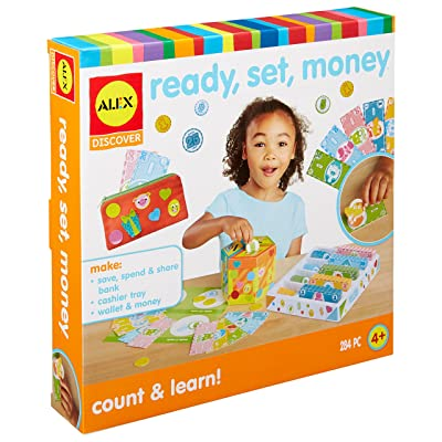 ALEX Discover Ready Set Money Learning Kit: Toys & Games