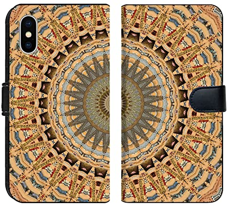 Amazon.com: Liili Premium iPhone XS Flip Micro Fabric Wallet ...