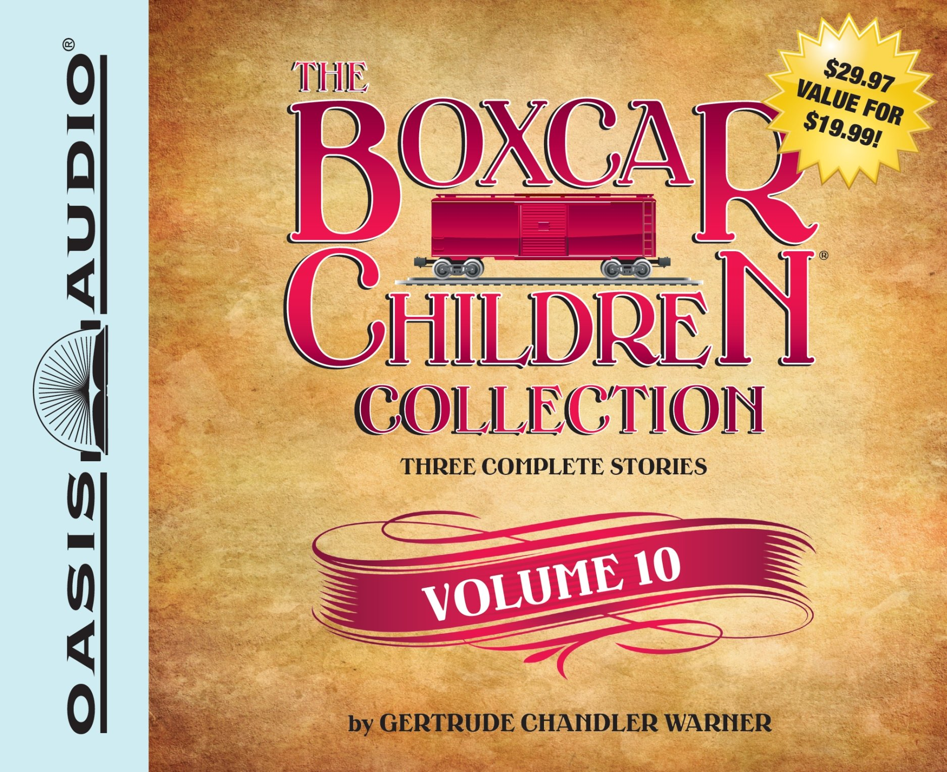 The Boxcar Children Collection Volume 10: The Mystery Girl, The Mystery Cruise, The Disappearing Friend Mystery (Boxcar Children Mysteries)