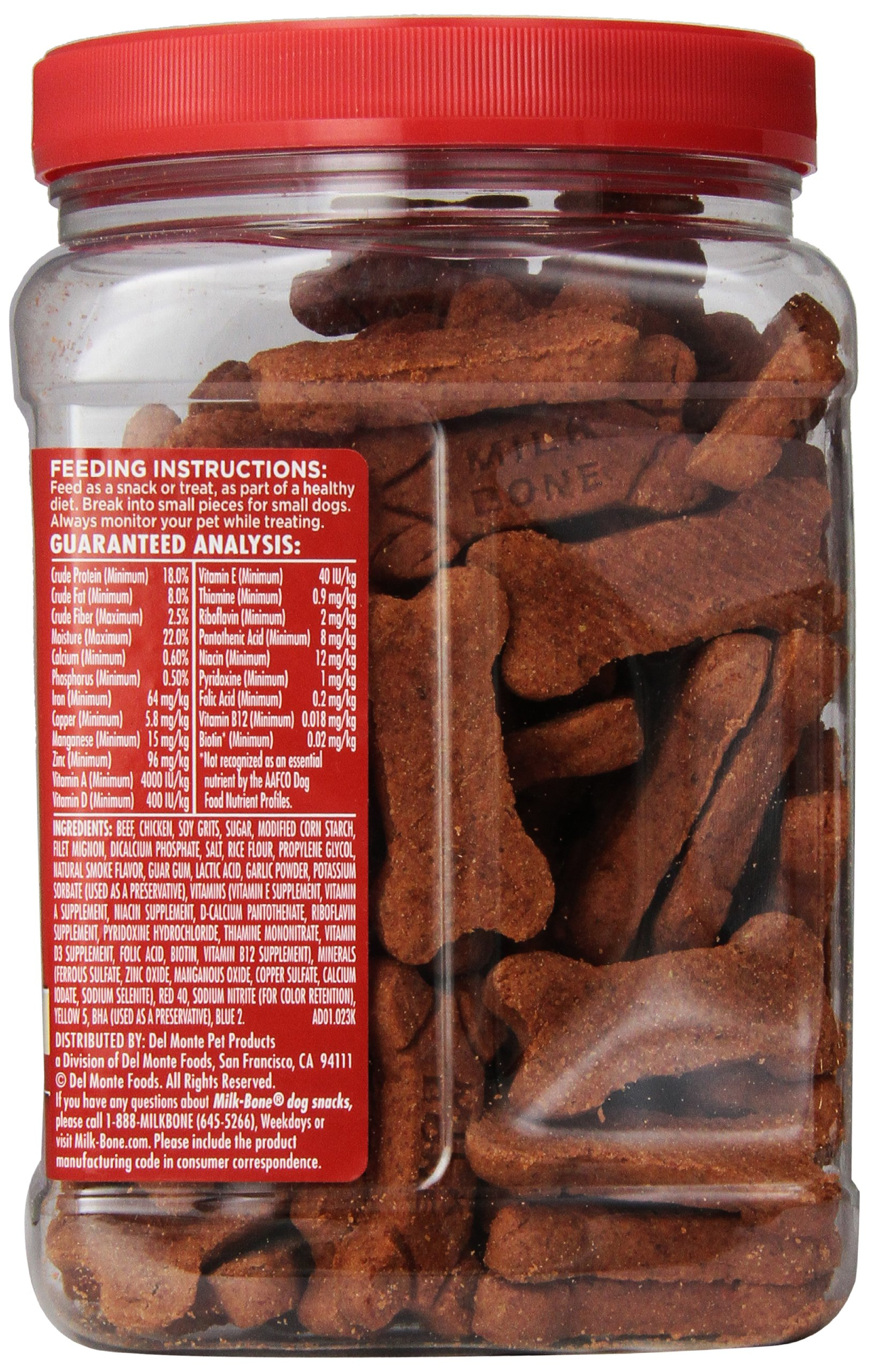 MILKBONE DOG BISCUITS 799058 6-Pack Chewy Treats Filet Mignon For Pets, 25-Ounce by MILKBONE DOG BISCUITS (Image #5)