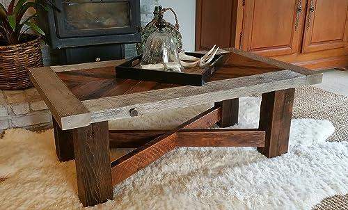 Superb Amazon Com The Seattle Mid Town Classic Reclaimed Wood Frankydiablos Diy Chair Ideas Frankydiabloscom