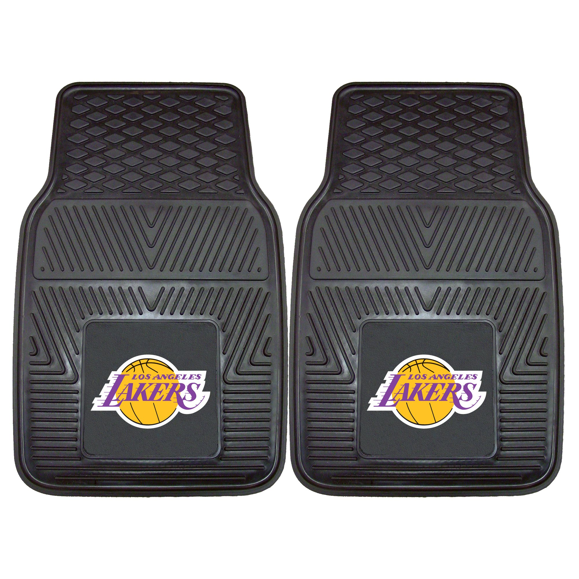 Fanmats NBA Los Angeles Lakers Vinyl Heavy Duty Car Mat