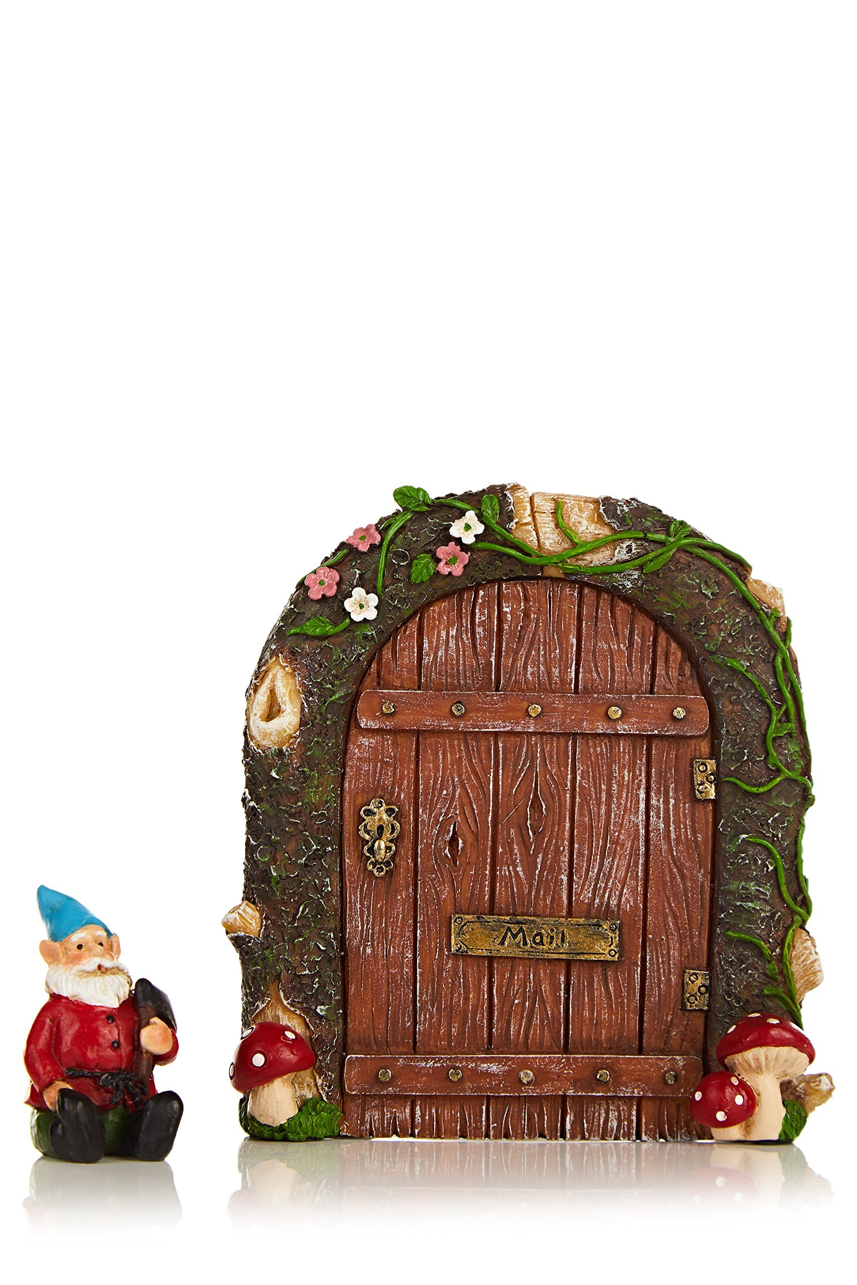 """Purple Tree Line Fairy Garden Door 4.6"""", Gnome HomeColorful, Funny, Miniature Premium Quality decoration for both outdoor and indoor use"""