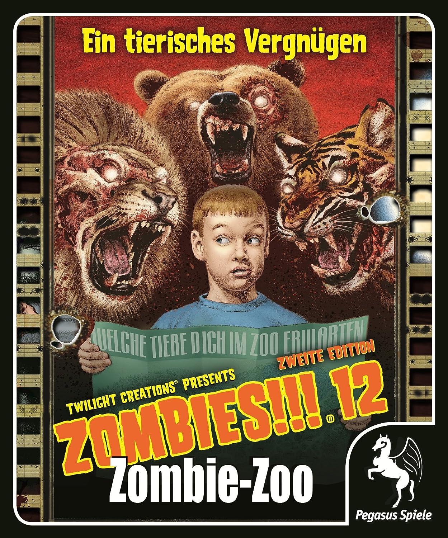Pegasus Spiele 54212G - Zombies, 12: Zombie Zoo: Amazon.es ...