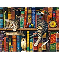 Buffalo Games The Cats of Charles Wyoscki - Frederick The Literate - 750 Piece Jigsaw Puzzle