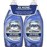 Dawn Platinum Dishwashing Liquid, Refreshing Rain,  19.4 Fl Oz, 2 Count