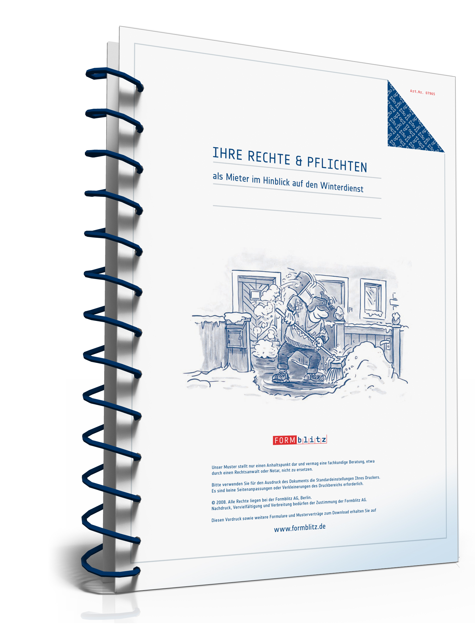 Ratgeber Winterdienst Für Mieter Zip Ordner Amazonde Software