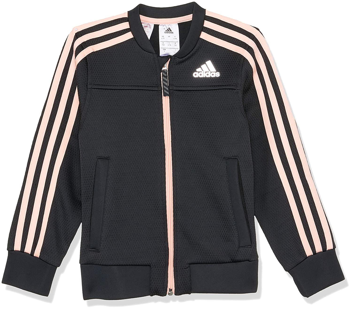 adidas Childrens Polyester Cover Up Jacket
