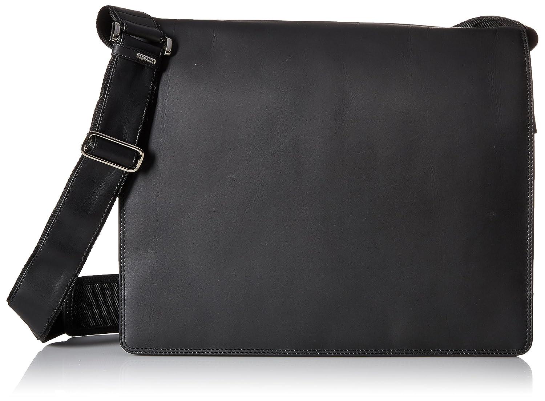 Tan Visconti Harvard X-Large Crossbody Messenger Bag A4 Plus//Distressed Leather