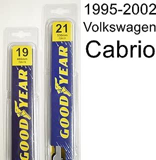 "product image for Volkswagen Cabrio (1995-2002) Wiper Blade Kit - Set Includes 21"" (Driver Side), 19"" (Passenger Side) (2 Blades Total)"