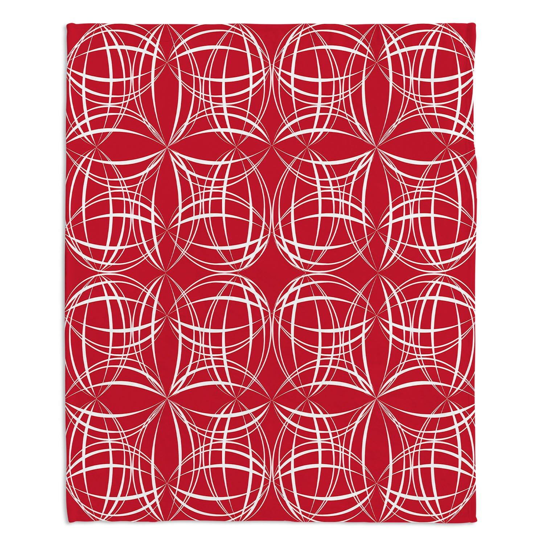 ブランケットウルトラソフトFuzzy 4サイズダイアノウチェデザインズ – SueブラウンCocoライムレッドホーム装飾寝室ソファスローブランケット Large 80