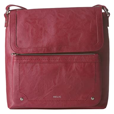 3ee94ce69ec0 Relic by Fossil Evie Flap Crossbody Handbag, Baked Apple: Handbags ...