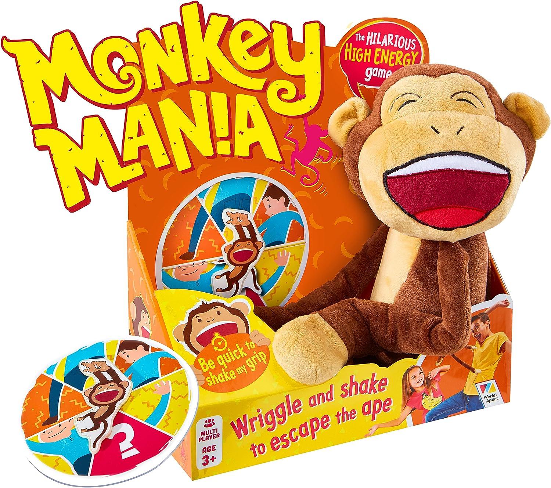 Worlds Apart Monkey Mania Fun Family Ape Game: Amazon.es: Juguetes y juegos