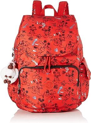 Kipling - D Citypack, Mochilas Mujer, Multicolor (Sketch Red): Amazon.es: Zapatos y complementos