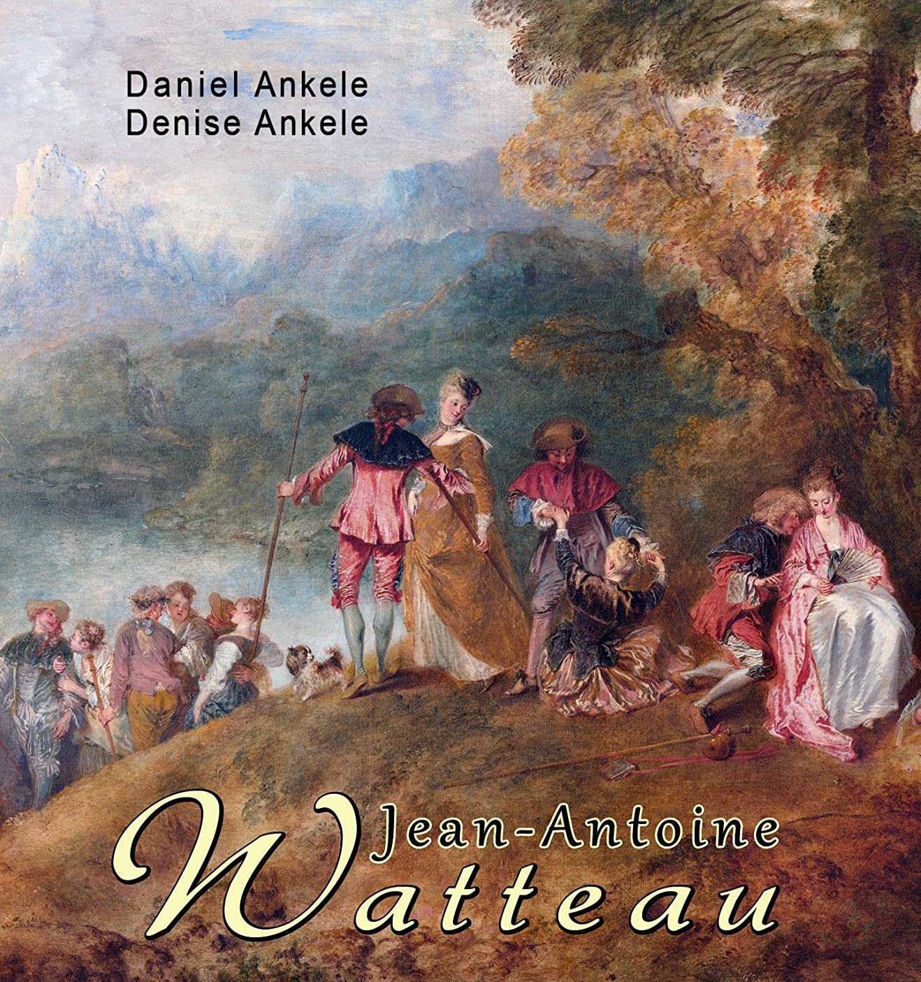 Jean Antoine Watteau: 55  Rococo Paintings (English Edition)