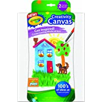 2-Pack Crayola Paint Canvas Sets (White)