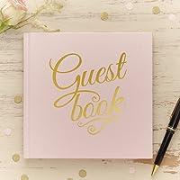 Ginger Ray Pastell Rosa und Gold Foliierte Hochzeit Gästebuch - In Pastellfarben Perfektion