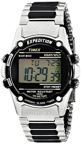 Timex T775179J - Reloj (Reloj de pulsera, Masculino, Resina, Acero inoxidable,