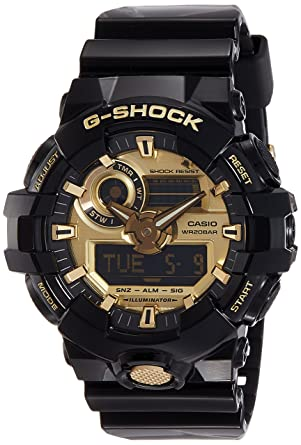 9740ae01127f Buy Casio G-Shock Analog-Digital Gold Dial Men's Watch - GA-710GB-1ADR  (G740) Online at Low Prices in India - Amazon.in
