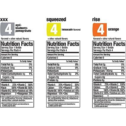 vitamin water zero variety pack 20 fl oz 12 count amazon com grocery gourmet food
