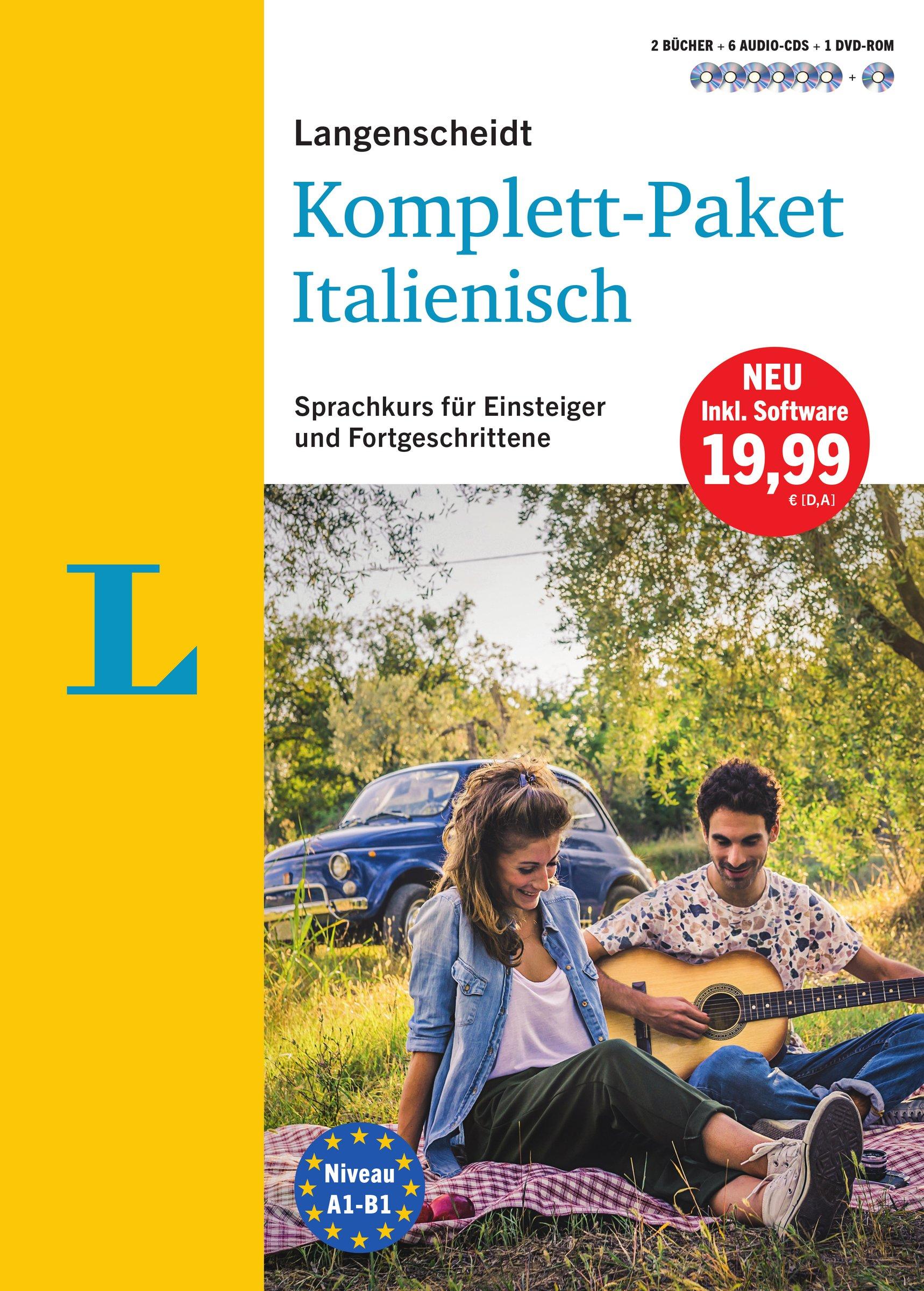Langenscheidt Komplett-Paket Italienisch - Sprachkurs mit 2 Büchern ...