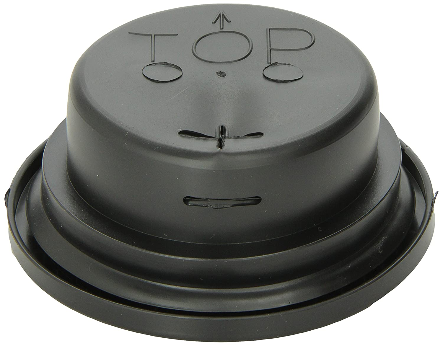 For 4 Round Lights Grote 91950 Black Closed Back Grommet