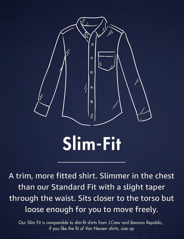 Marca Goodthreads Slim-fit Long-sleeve Corduroy Camisa para Hombre