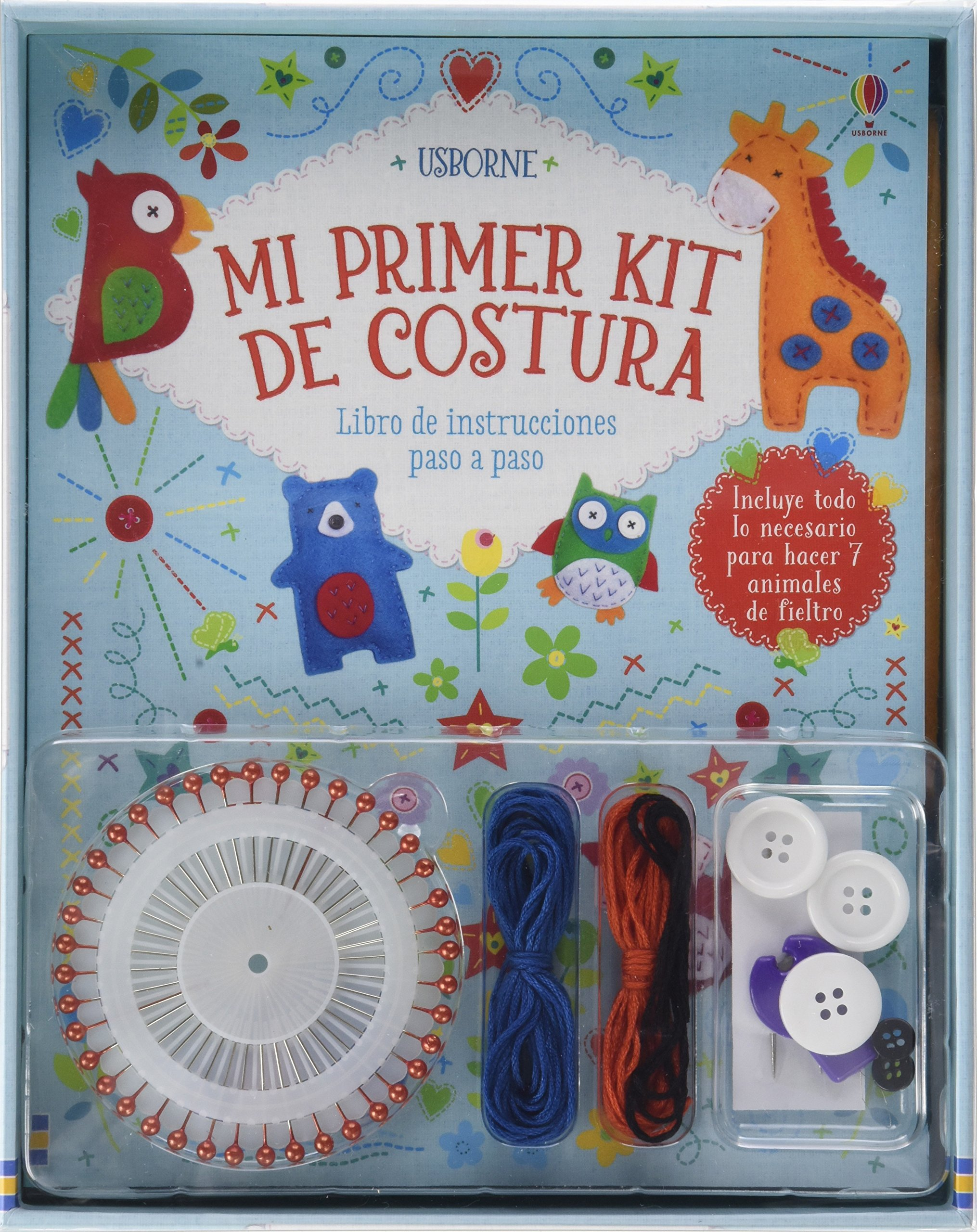 Mi primer kit de costura: Amazon.es: Abigail Wheatley, Abigail ...