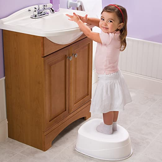 Amazon.com : Summer Infant Step-By-Step Potty Trainer and Step Stool ...