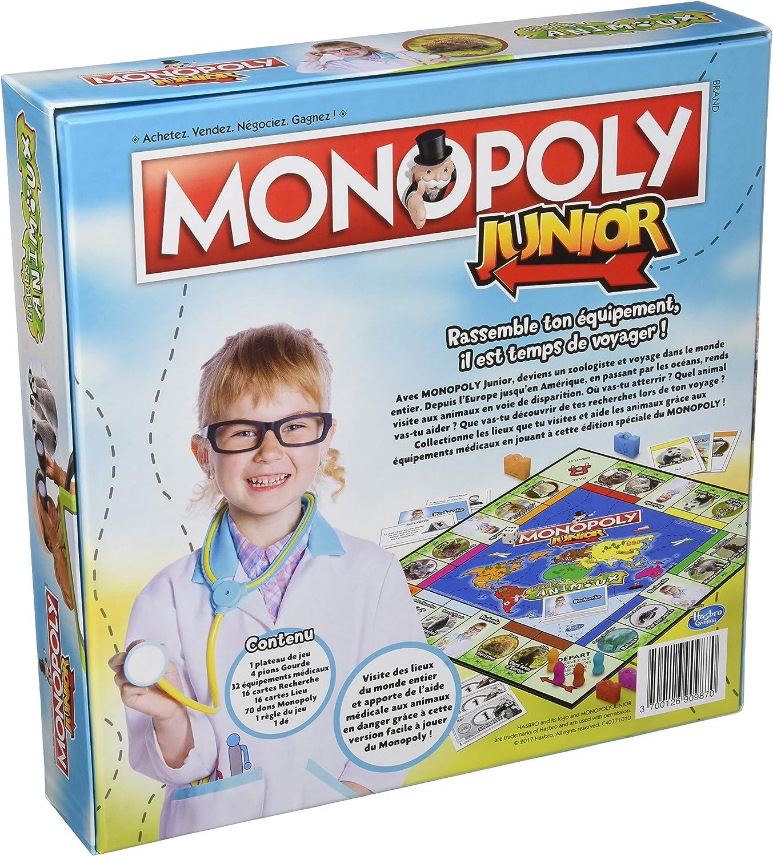 Winning Moves – 0987 – Monopoly – Junior bebés Animales – Version Francesa: Amazon.es: Juguetes y juegos