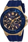 Guess Analog Blue Dial Men's Watch - W0674G2