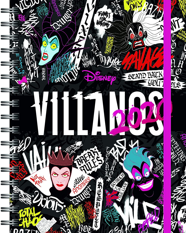 Villanos Disney. Agenda 2020 (Disney. Otras propiedades)