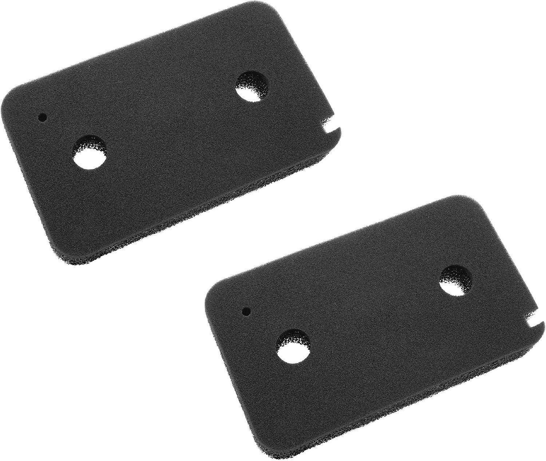 vhbw Set de 2x filtros de espuma compatible con Miele Young Style T7953WP (CH) secadoras de ropa