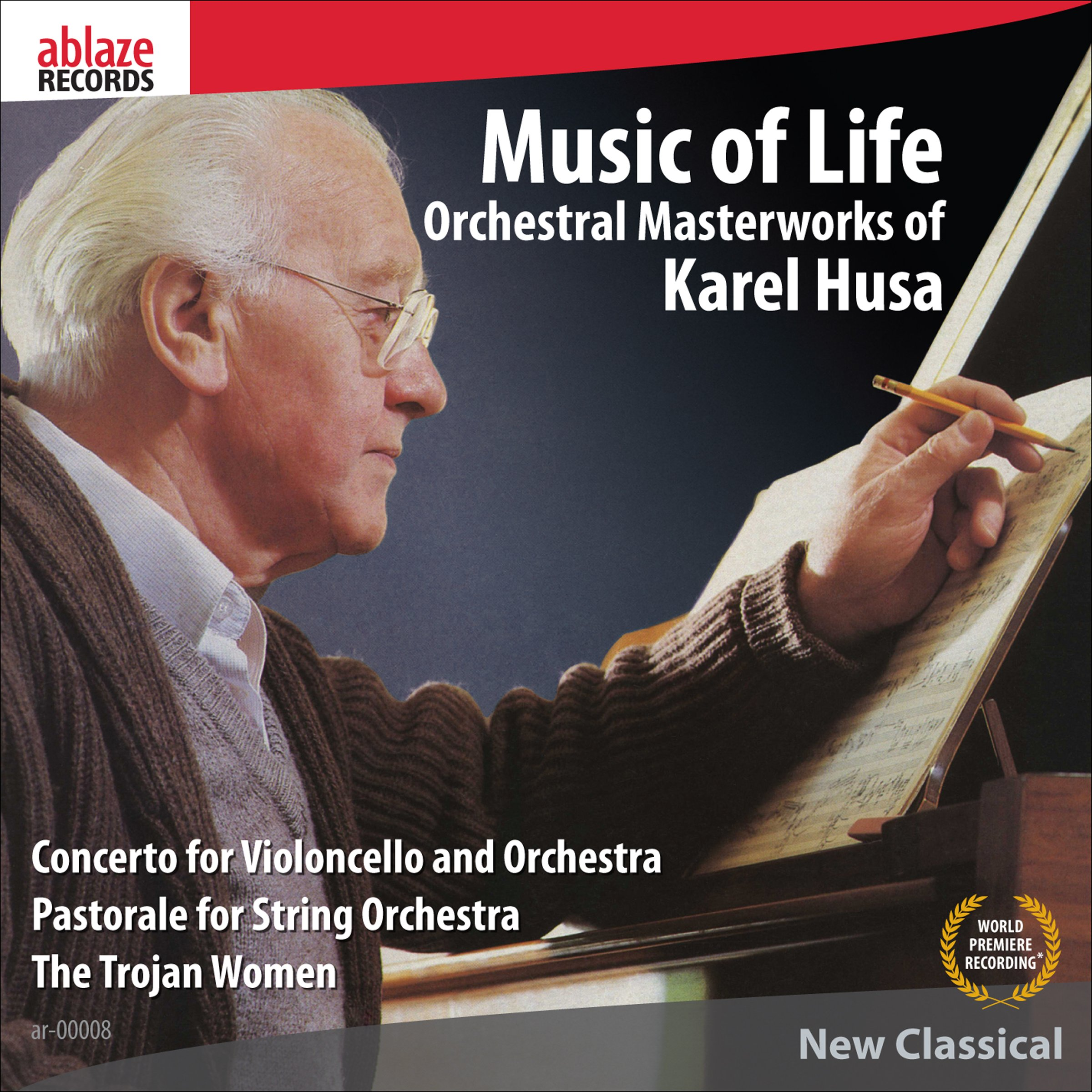 Music of Life–Orchestral Masterworks of Karel Husa by CD Baby
