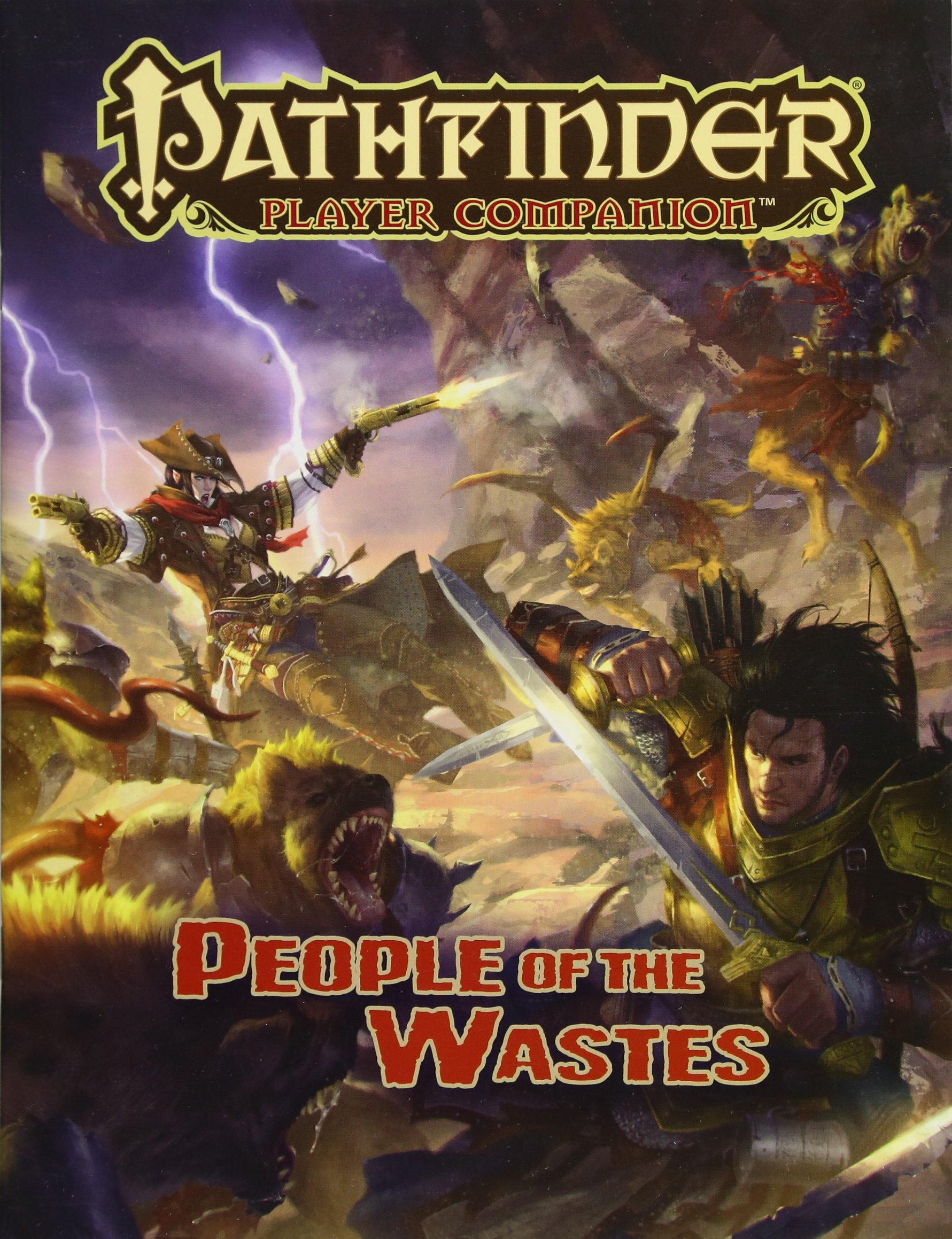 Pathfinder Player Companion: People of the Wastes: Paizo Staff:  9781601259905: Amazon.com: Books