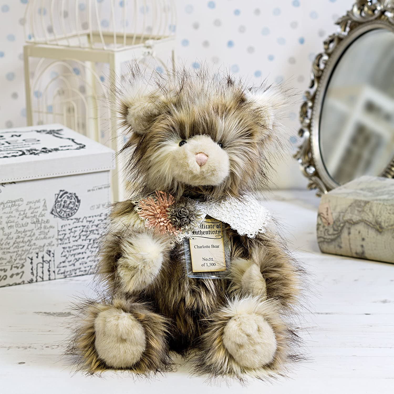 Mejor la venta de edición limitada coleccionistas plateado etiqueta oso – Charlotte – un gran regalo para su novia/socio