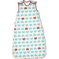 英国 Grobag SimplyGro(升级版) 婴儿睡袋 红蓝汽车 1.0托格 (6-18个月) AAE4286