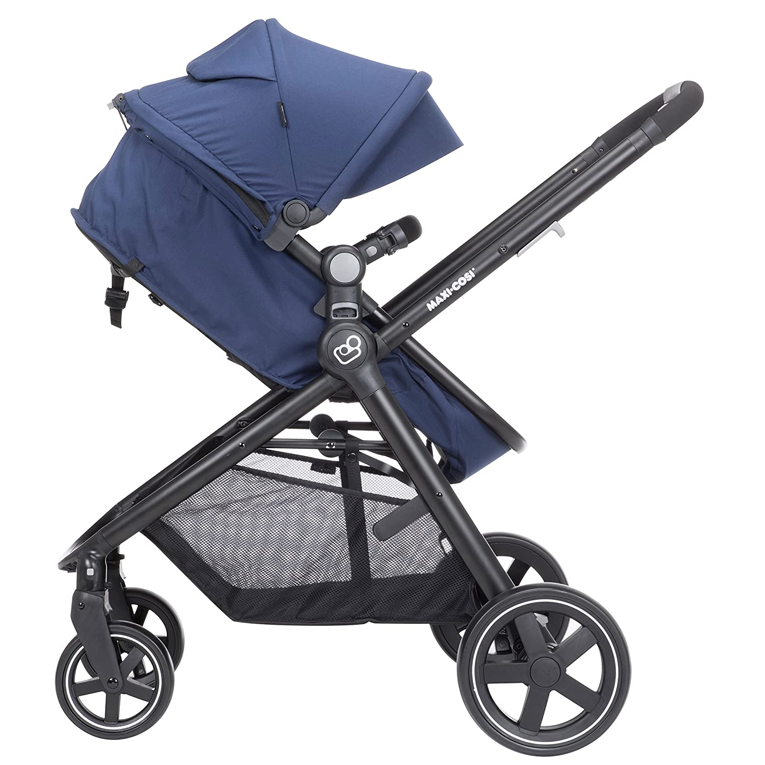 Amazon.com : Maxi-Cosi Zelia 5-in-1 Modular Travel System - Stroller and Mico 30 Infant Car Seat Set, Aventurine Blue : Baby