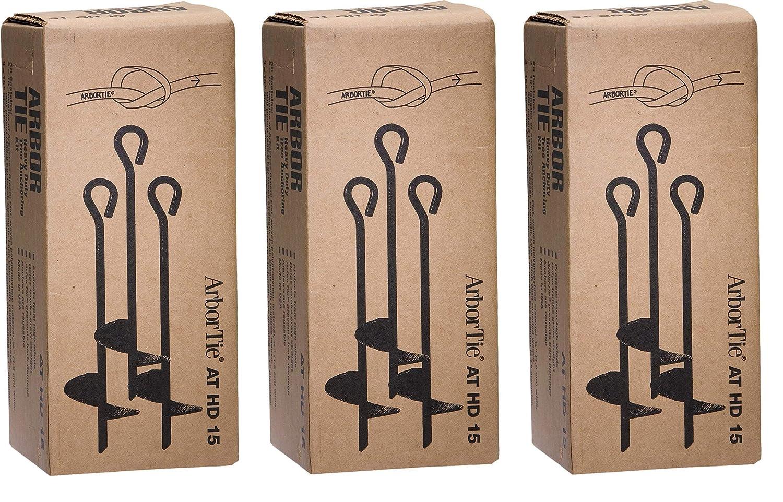 DEEPROOT Arbortie Kit de Anclaje Resistente para árboles de ...